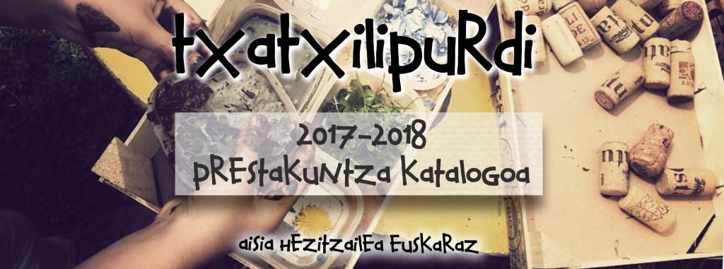 2017-2018 ikasturterako prestakuntza katalogoa