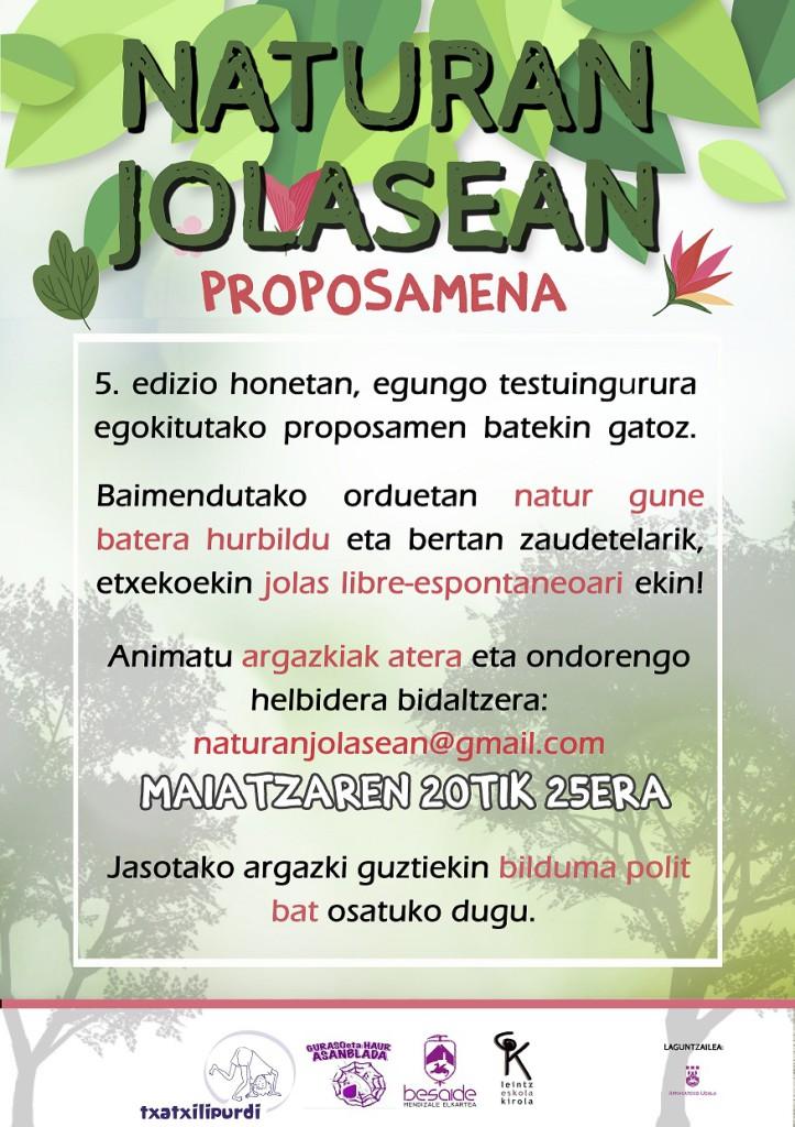 NATURAN JOLASEAN, 5.edizioa
